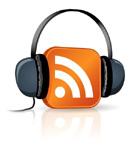 Feed Icon with Headphones